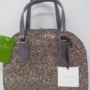 NWT Kate Spade Laurel Way Glitter Mini Reiley